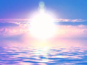 sluncem